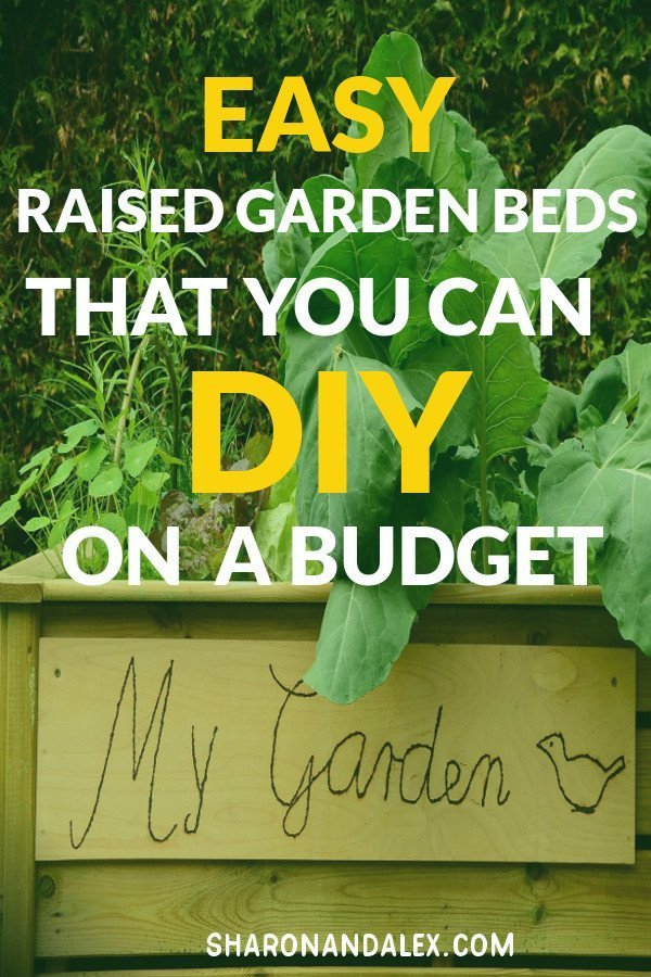 Would you like to have a garden but just don't have the space? Raised garden beds could be the answer you've been looking for! There are so many options for raised garden beds. Here are some of the coolest ideas for any sized space that you can DIY on a budget.