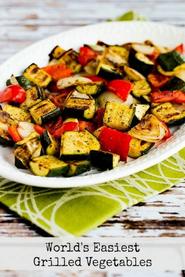 World's Easiest Grilled Vegetables