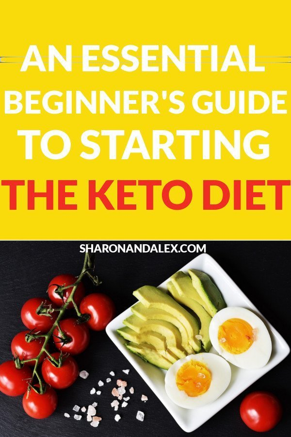 The Beginner's Guide to Staring the Keto Diet: If you're just starting out on the keto diet, this guide answers the questions you have about to be successful on the ketogenic diet. #keto #ketodiet #ketodietguide #ketotips #ketogenic