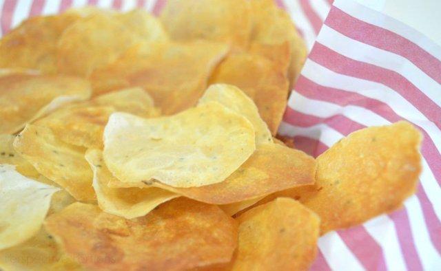 Keto Snacks - Cottage Cheese Crisps