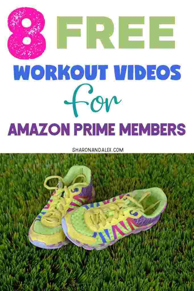 Are you tired of paying for a gym membership you don't have time to use? Amazon has workout videos that are FREE for Prime Members! Here are 8 free workout videos you can use to work out at home whenever it's convenient for you. #workouts #workoutideas #freeworkouts #amazonworkouts