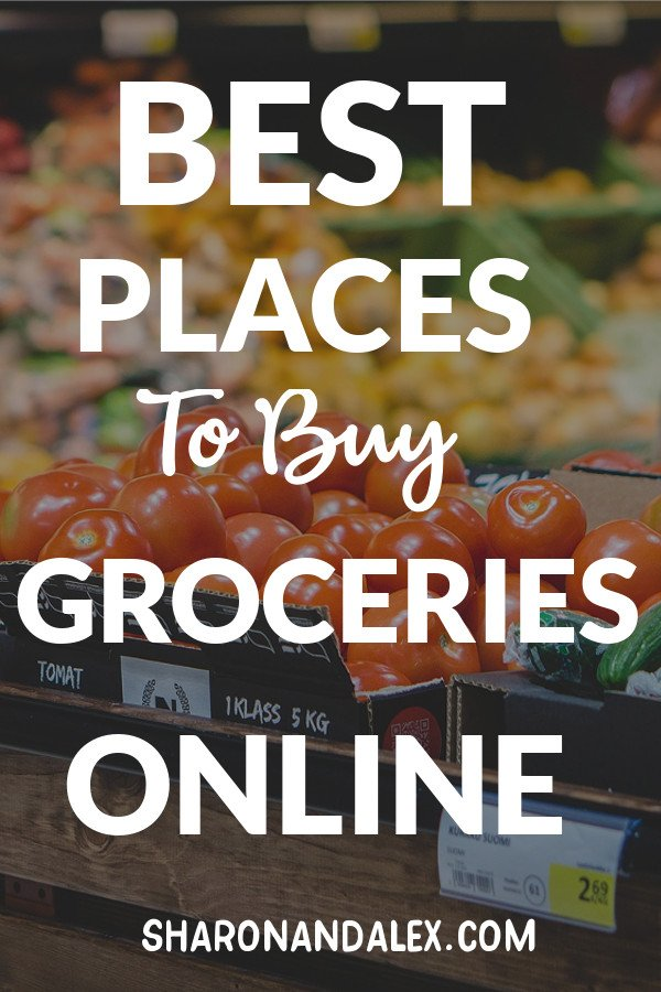 Here are the best sites right now to buy groceries online. Online grocery shopping is a time-saver and it can save you money too!