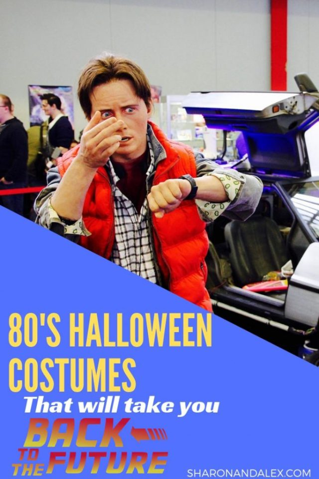 The 80's produced a lot of great movies that hold up even today. Go retro this year and check out these 80's Halloween costumes inspired by iconic movies like Pretty in Pink, Ferris Bueller's Day Off, The Breakfast Club, Back to The Future, Dirty Dancing and Say Anything. #halloween #halloweencostumes #80scostumes #80shalloweencostumes