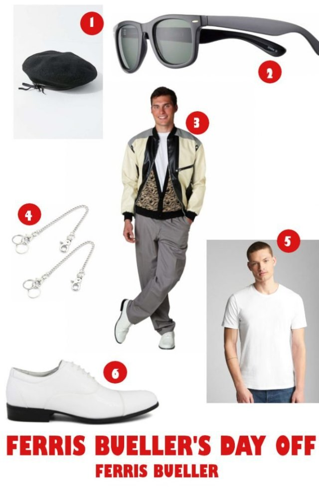 80's Halloween Costumes - Ferris Bueller's Day Off