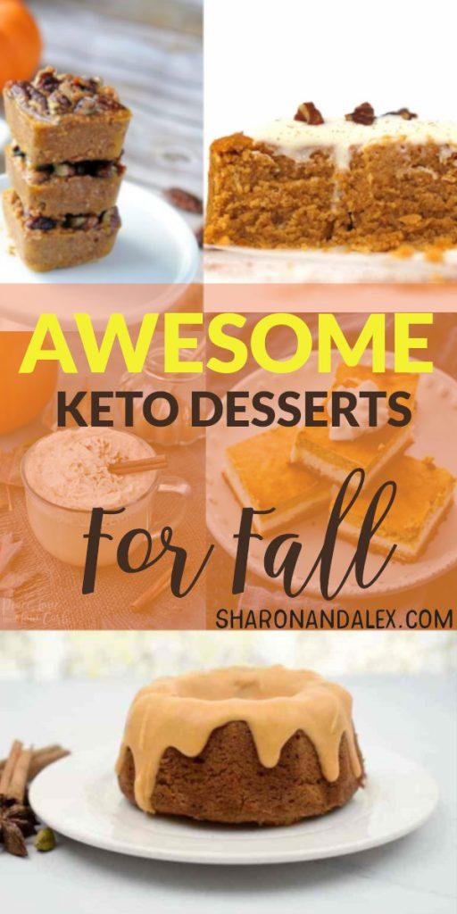 Keto Dessert Recipes For Fall