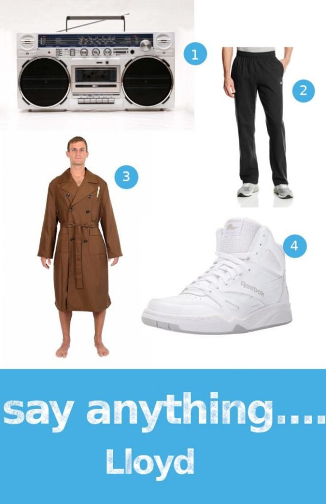 80's Halloween Costumes - Say Anything Lloyd
