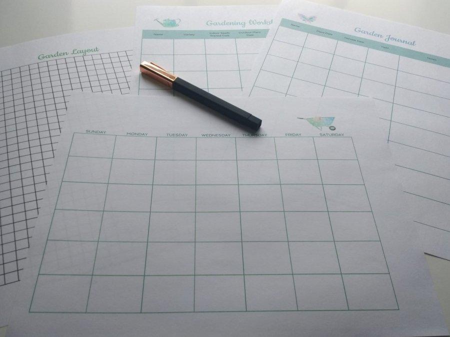 Garden Planning Printables