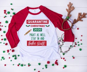 Quarantine Christmas HTV Design