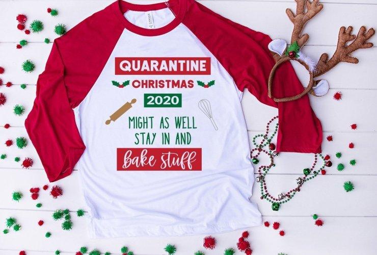 Quarantine Christmas HTV Design