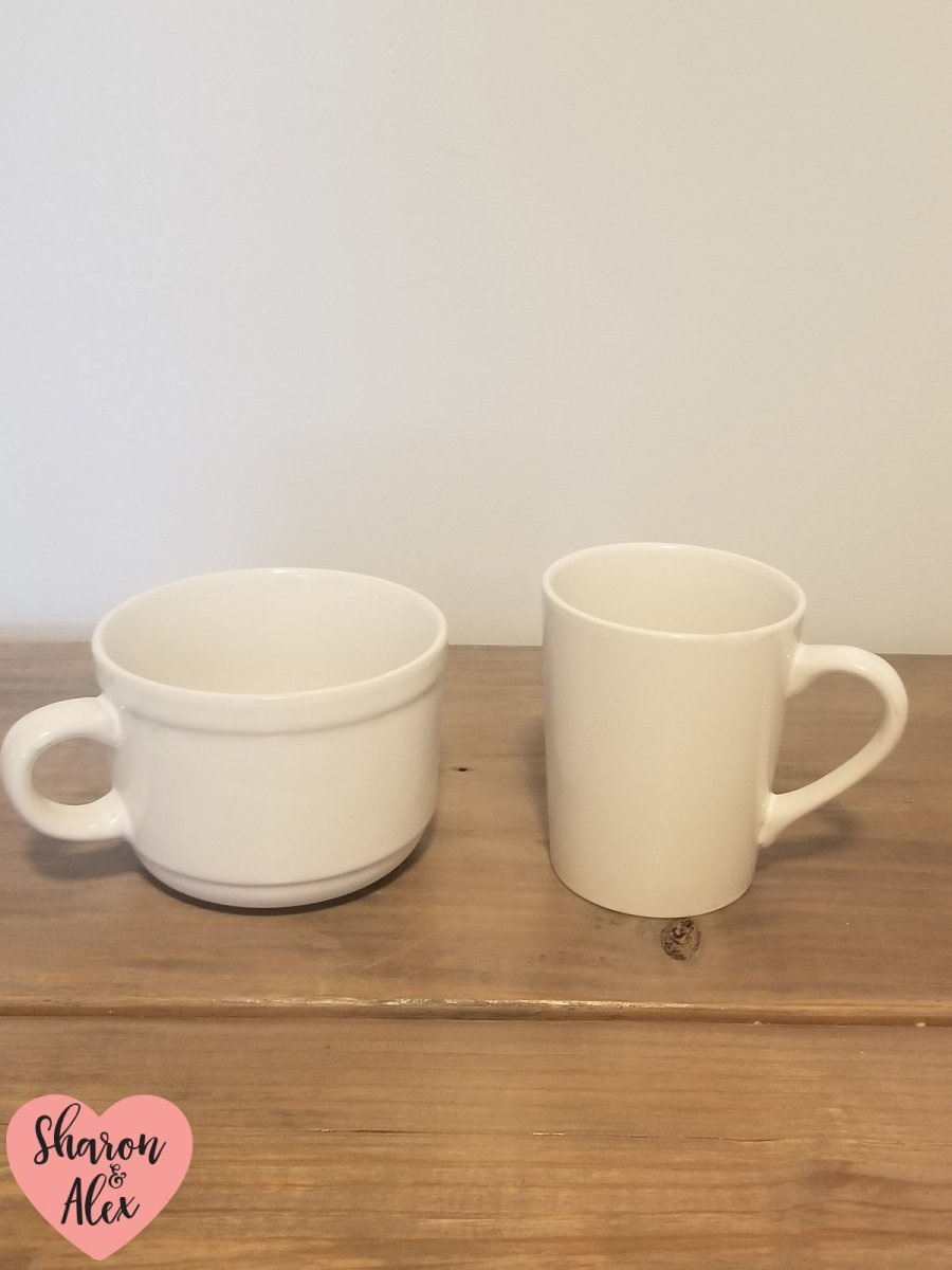 Coffee mugs Cricut projects
