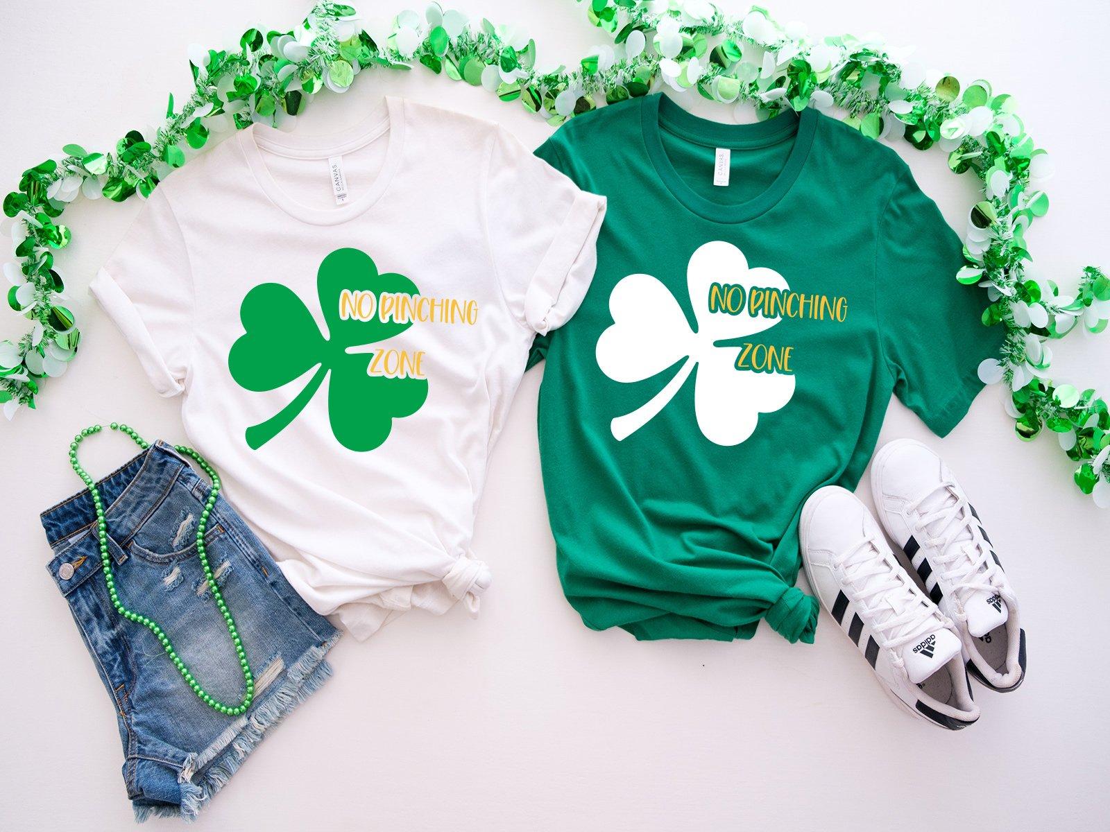 No Pinching Zone - Free St. Patrick's SVG