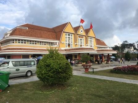 Dalat rail station museum