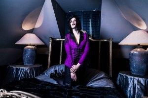 Fantasy Goth, christmas fashion lookbook for Attitude Holland