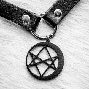 hexed moon choker etsy