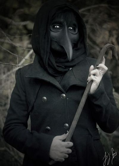 plague doctor look