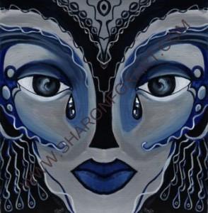 Woman Adorned Mask 1