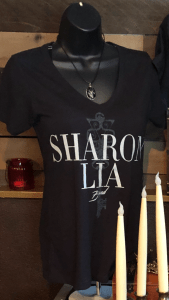 "Sharon Lia Band Women's ""Anomie"" Tee and ""Tree of Life"" Necklace"