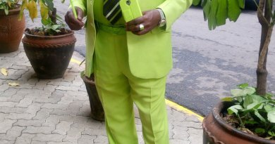Meet James Maina Mwangi: The Flashiest Fashionista.