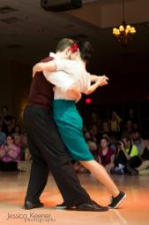 Competing with Nick Williams at Lindy Focus 2011, Asheville USA // Photo by Jessica Keener