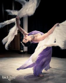Performing in the Burlesque Varieté at Chicago Studio, Stockholm Sweden // Photo by John Paul Bichard