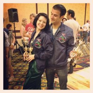 Sharon & Juan win National Jitterbug Championships