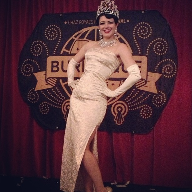 1st Place at World Burlesque Games 2013!