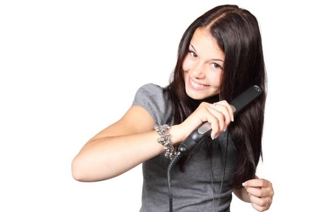 hair ironing