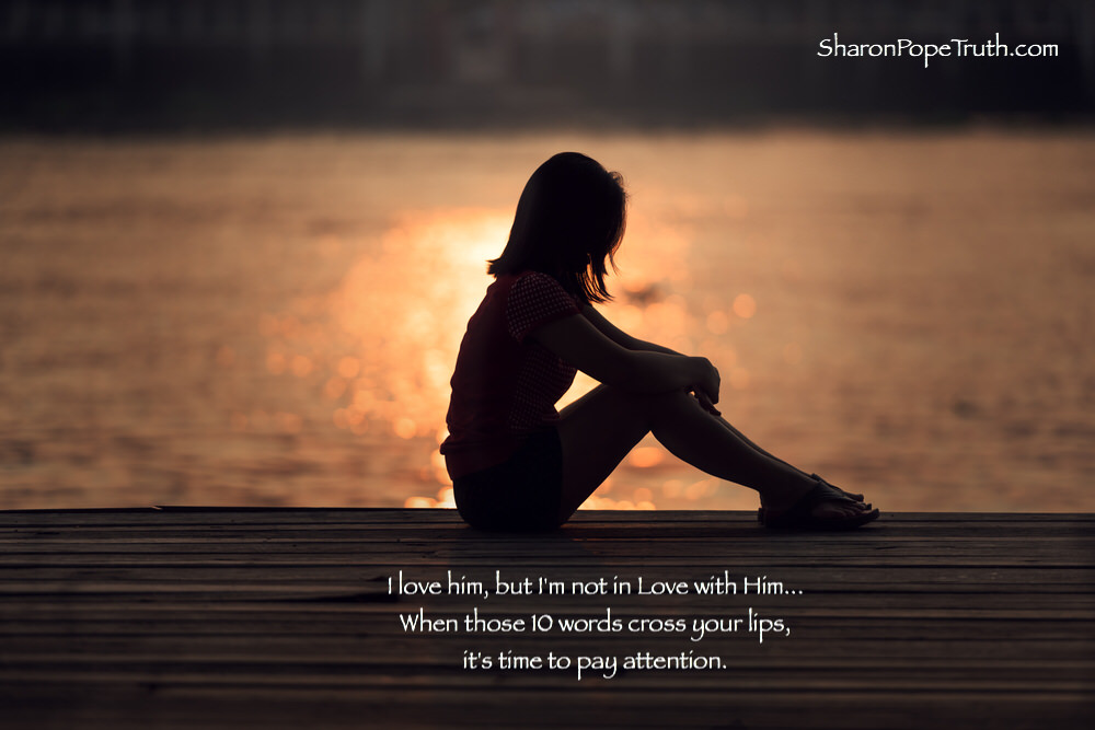 I Love Him but I'm Not in Love with Him | Sharon Pope