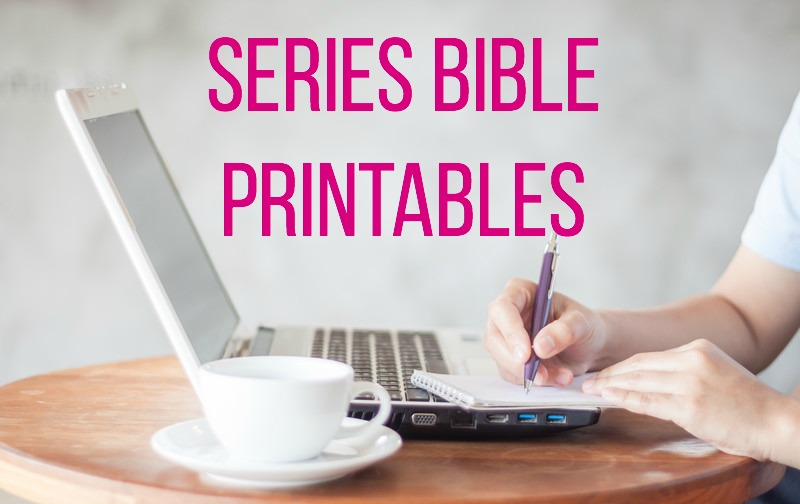 series bible printables