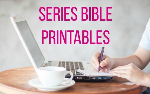 series bible printables