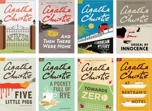 Agatha Christie Mystery Book Collection - Harper Collins
