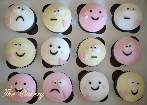 Silly-Funny-Faces-Cupcakes-Box