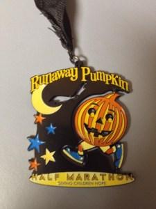 Runaway Pumpkin - Medal