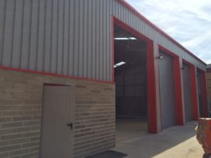 Full Turnkey HGV Steel Building Project