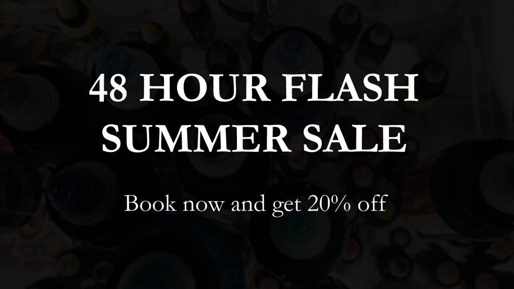 Flash summer sale cover photo for Sharp Art Studios