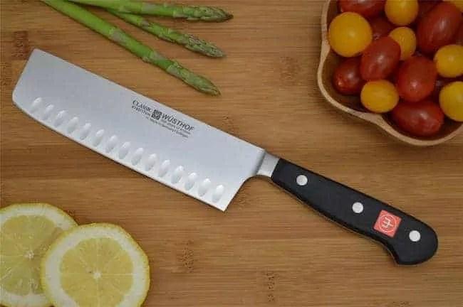 Wusthof Classic Nakiri Vegetable Knife 1