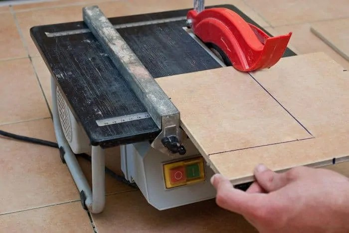 how to cut tile without a saw