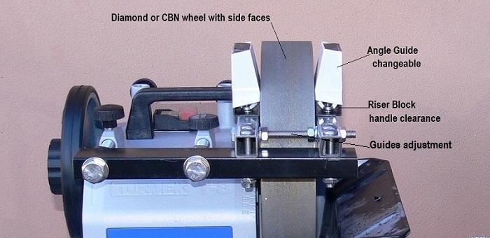 Knife Sharpening Attachment For Bench Grinder