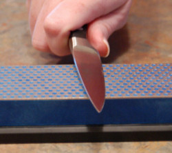 kitchen knife sharpening stone how to plan a remodel step by starting on fine requires fewer steps but must only be used an edge requiring little work