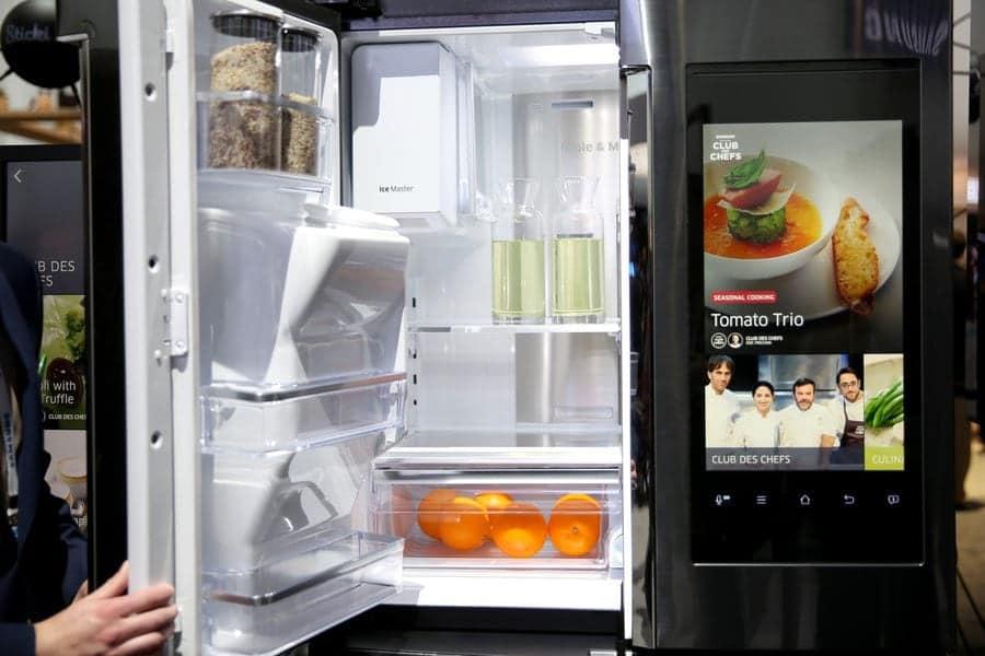 dash kitchen appliances used kitchens for sale top internet connected (smart) refrigerators- 2017