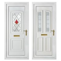 Panelled Front & Rear Doors - Sharpes Windows and Doors, Wilts