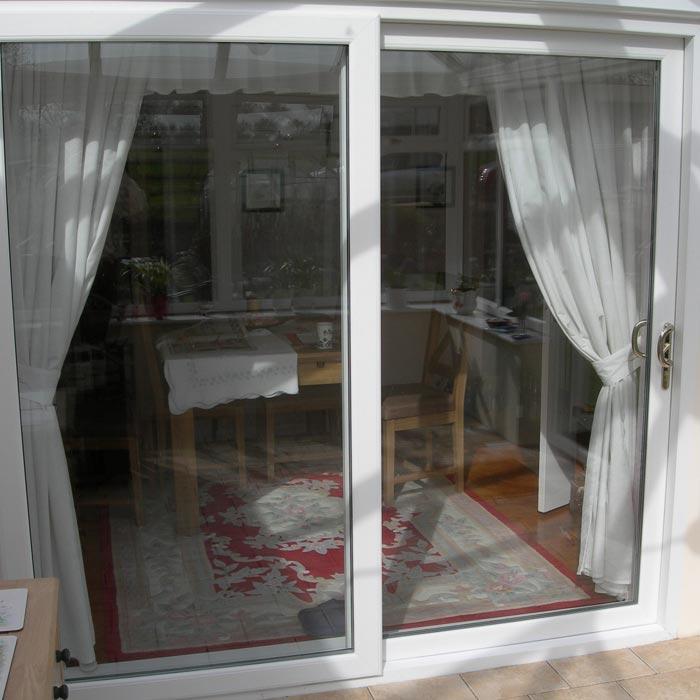 low threshold sliding patio doors