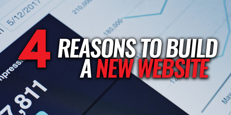 4 Reasons to Build a New Website for Your Business | Header