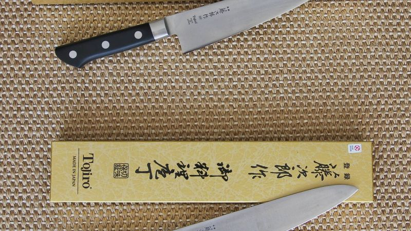 Tojiro DP Cobalt Alloy 3-Layered Chef Knives F-807 and F-808