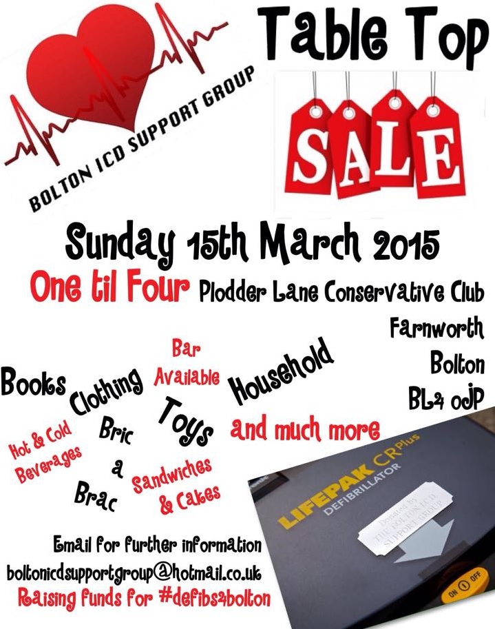 TABLE TOP SALE 2015