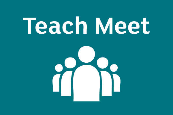 Teach Meet for Science at Sharples