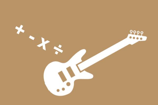 The Mathematics of the Rock Guitar