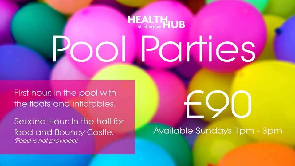 Health Hub Pool Parties