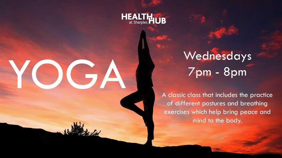Health Hub Yoga Class
