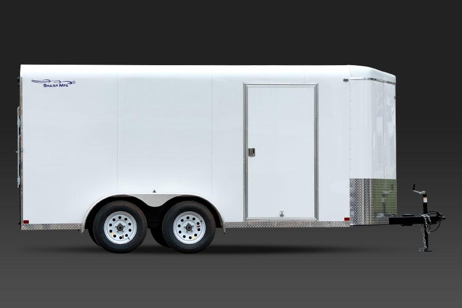 V Nose Cargo Trailers